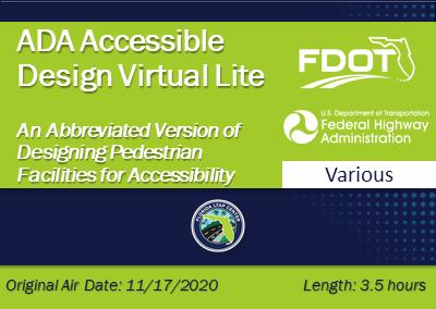 ADA Accessible Design Virtual Lite