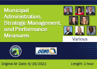 Municipal Administration, Strategic Management, and Performance Measures – A Virtual Roundtable and Panel Discussion