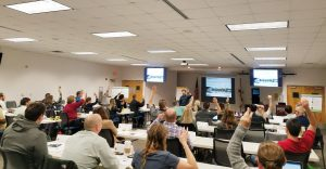 Photo of Classroom during a Recent LTAP Training
